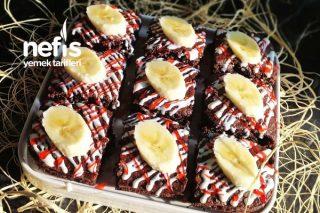 Bu Keki Yapmak İçin Muzları Bilerek Karartacaksınız (Videolu) Tarifi