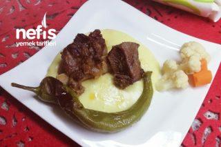 Dana Kaburga(Patates Püresi Eşliğinde) Tarifi