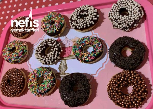 Donut (Krispy Kreme Tadında)