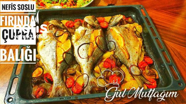 Fırında Çupra Balığı