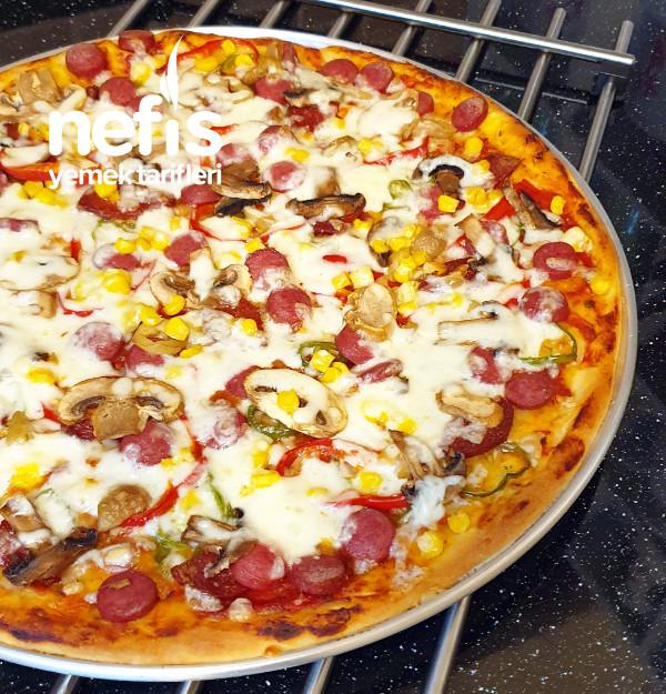 İncecik Hamurlu Pizza