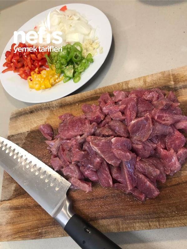 Mantarlı Et Sote Ve Patates Püresi (Nefissssssss)