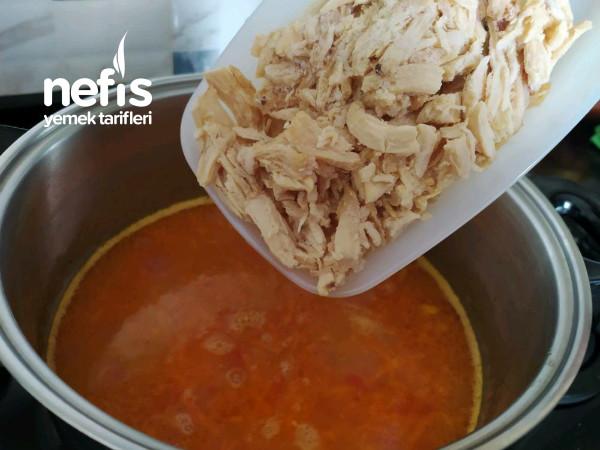 Özel Tavuk Suyunda Kış Çorbası(bağışıklık Güçlendirici)