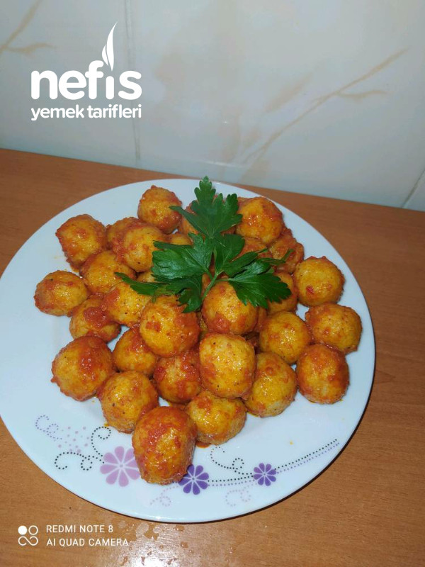 Patatesli Bulgur Koftesi
