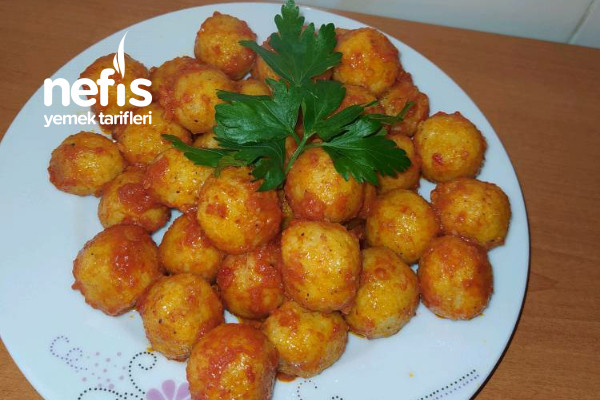Patatesli Bulgur Köftesin