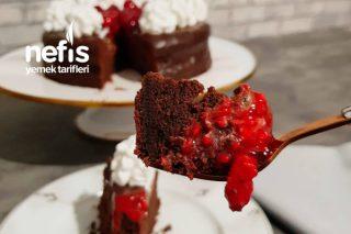 Çikolatalı Ganajlı Pasta Tarifi