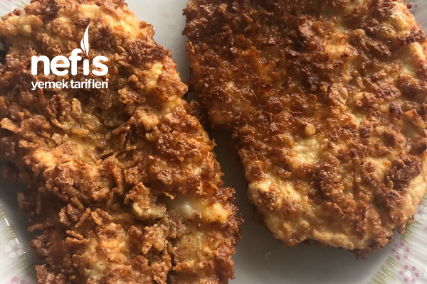 Cornflakesli Tavuk Kızartması