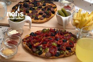 Karışık Pizza Dominostan Siparişe Son Tarifi