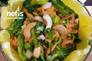 Portakallı Bebek Ispanak Salatası Tarifi