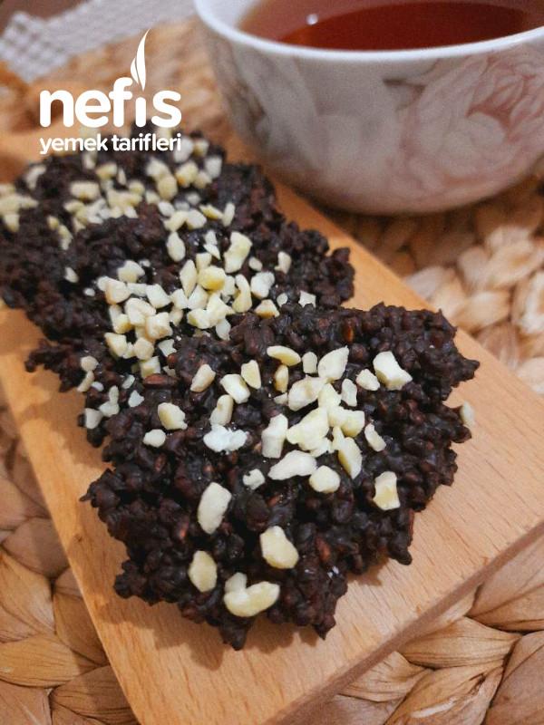Sadece 2 Malzemelı Çikolatalı Çıtır Fıt Gofret