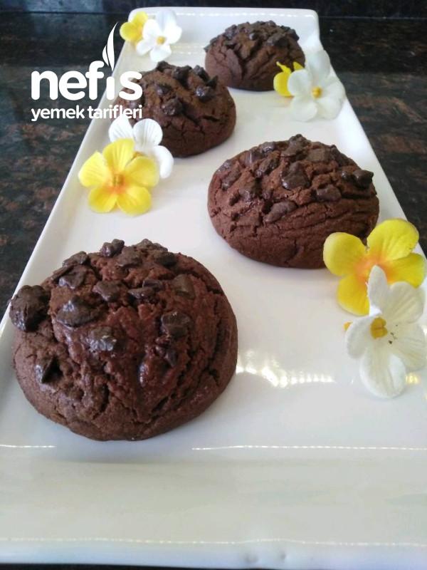 Sıcak Çikolata Tadında Kurabiye