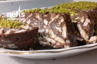 4 Malzemeyle Yumuşacık Bir Mozaik Pasta Hem Pratik Hemde Çok Lezzetli Tarifi