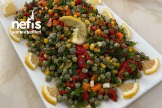 Besleyici Ve Leziz Bezelye Salatası Tarifi