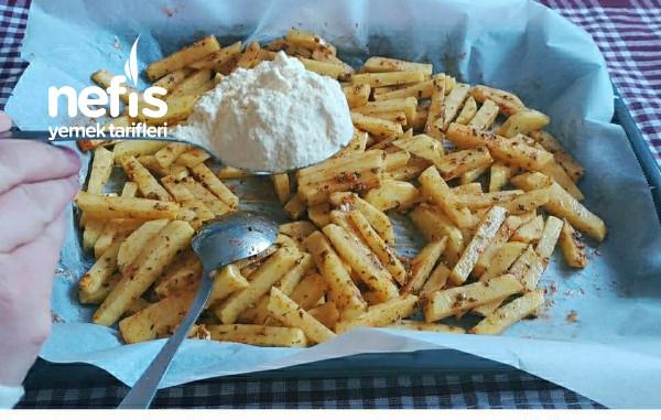Çok Amaçlı Fırında Çıtır Patates
