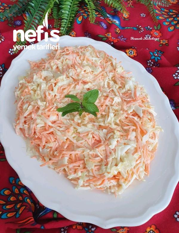 Coleslaw (Beyaz Lahana Salatası)