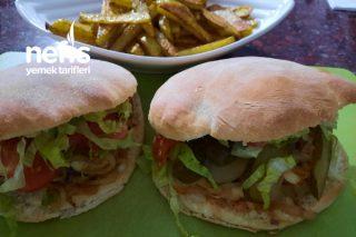 Gobit Ekmek Arası Hamburger Tarifi