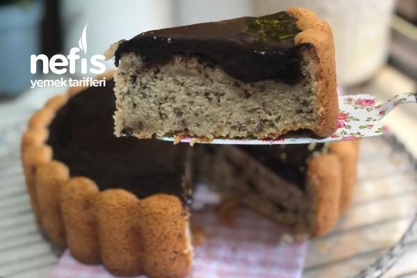 Keki Sodalı Çikolata Dolgulu Kek