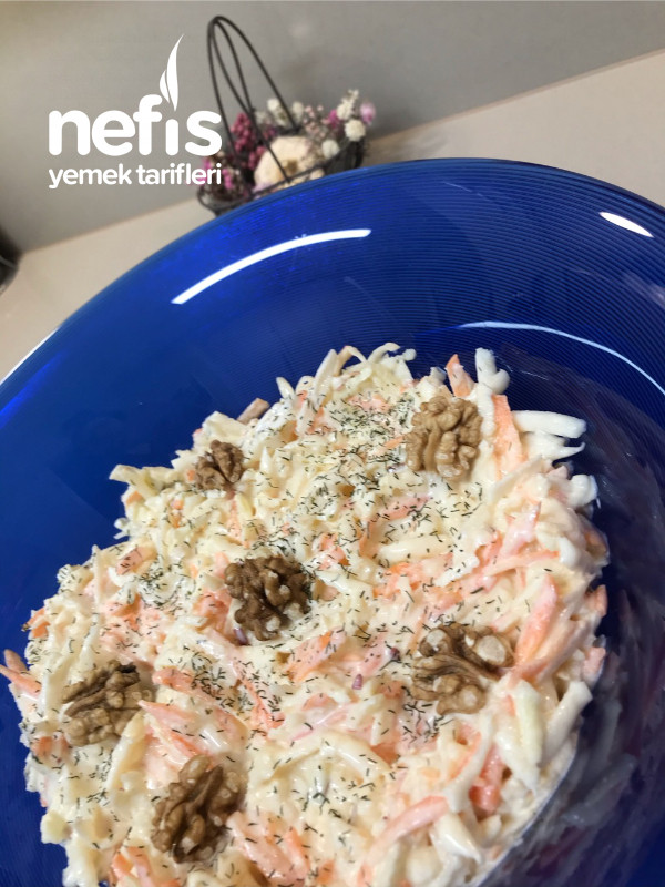 Kereviz Salatası (Havuçlu Ve Enfes)