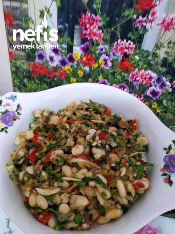 Köz Patlıcan Biber Piyaz