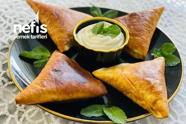 Lezzetli Lavaş Ekmekli Börek (Pakistanlıların Samosesi)