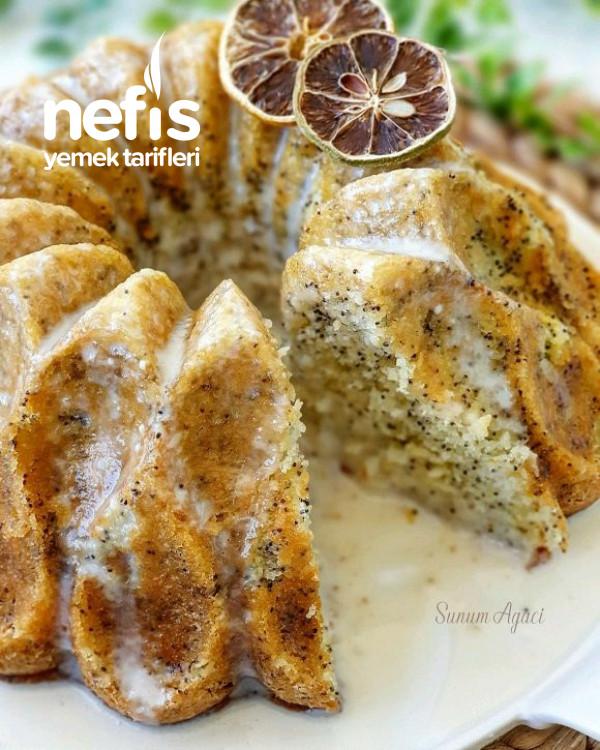 Lımonlu Hashaslı Kek(şahane Lezzet)