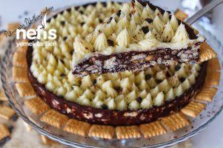 Mozaik Pasta Tart (Çay Saatlerinize Şıklık Ve Lezzet Katacak) Tarifi