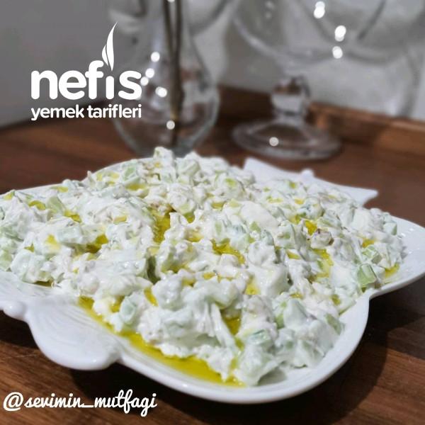 Salatalık, Ceviz Yogurtlaması