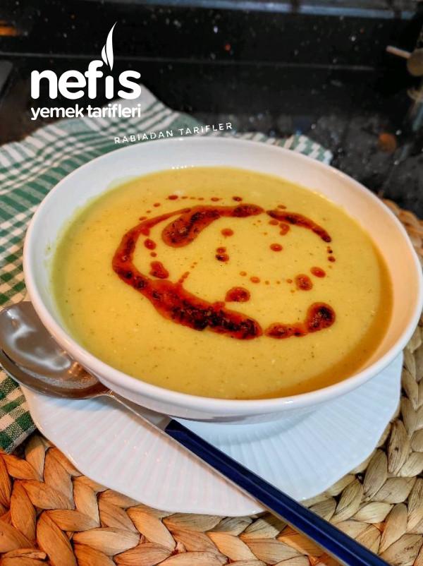 Sebzeli Mercimek Çorbası (Çocuklar Çok Sevecek)