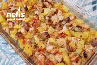 Tavuklu Fırında Patates Yemeği Tarifi