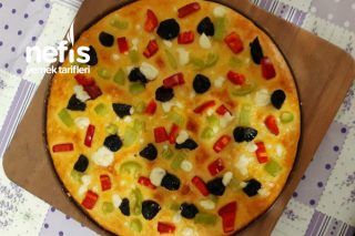 Taze Peynirli Mini Pizza Tarifi