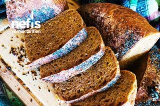 Chia Tohumlu, Ekşi Mayalı Çavdar Ekmeğimiz (El Değmeden) Tarifi