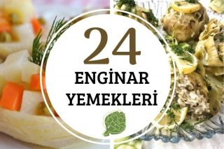 Enginar Yemekleri: Lezzet Garantili 24 Tarif Tarifi