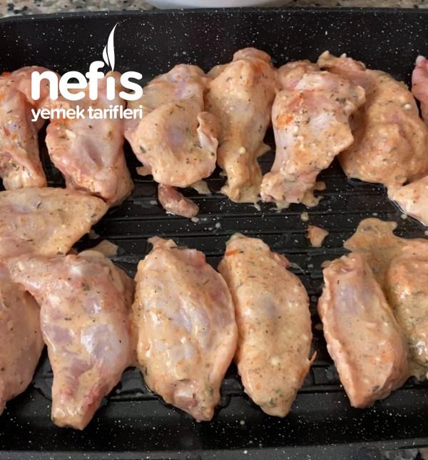 Fırında Izgara Tafında Tavuk Kanat