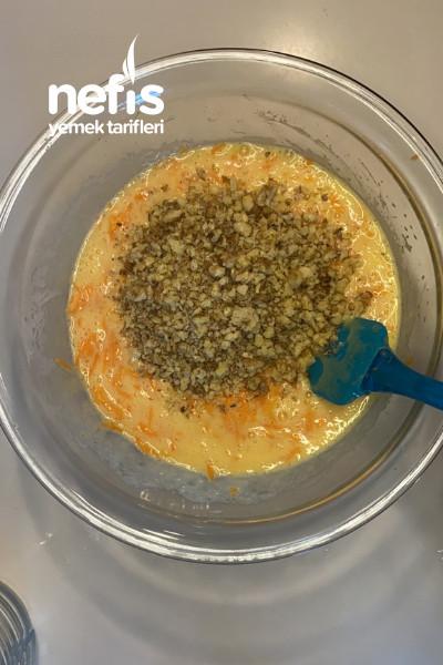 Havuçlu Cevizli Pasta