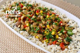 Kahvaltılık Yeşil Zeytin Salatası Tarifi