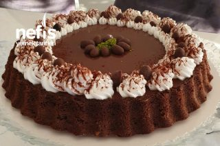 Karamelli Çikolatalı Enfes Tart Tarifi