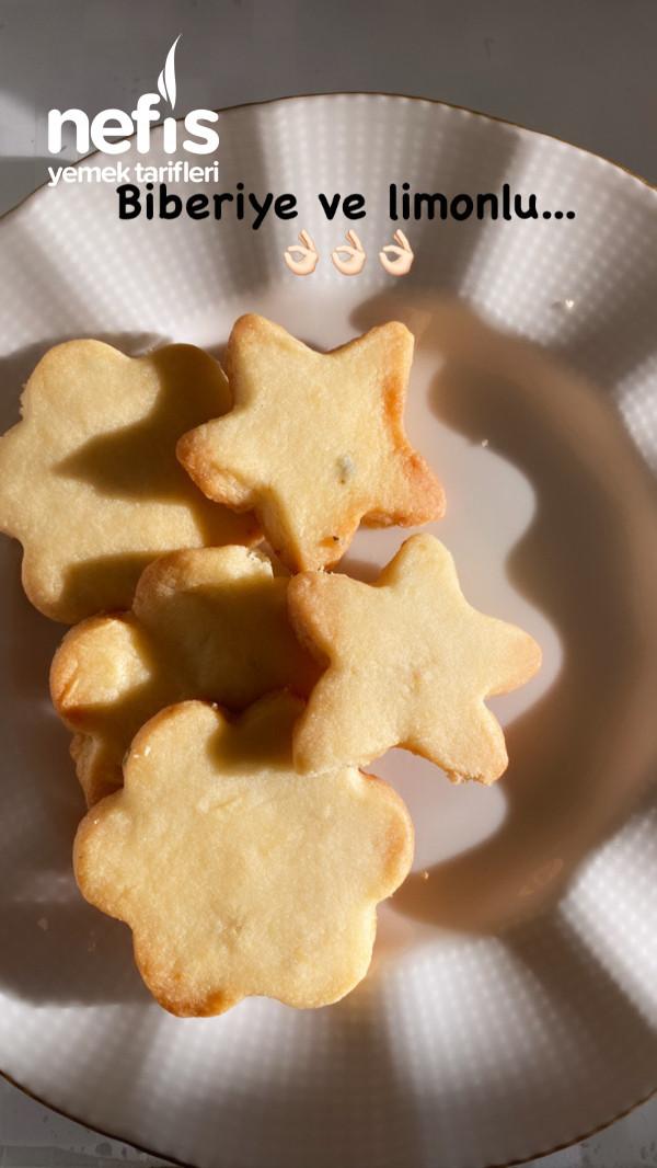 Limonlu Biberiyeli Kurabiye (Rosemary Cookie)