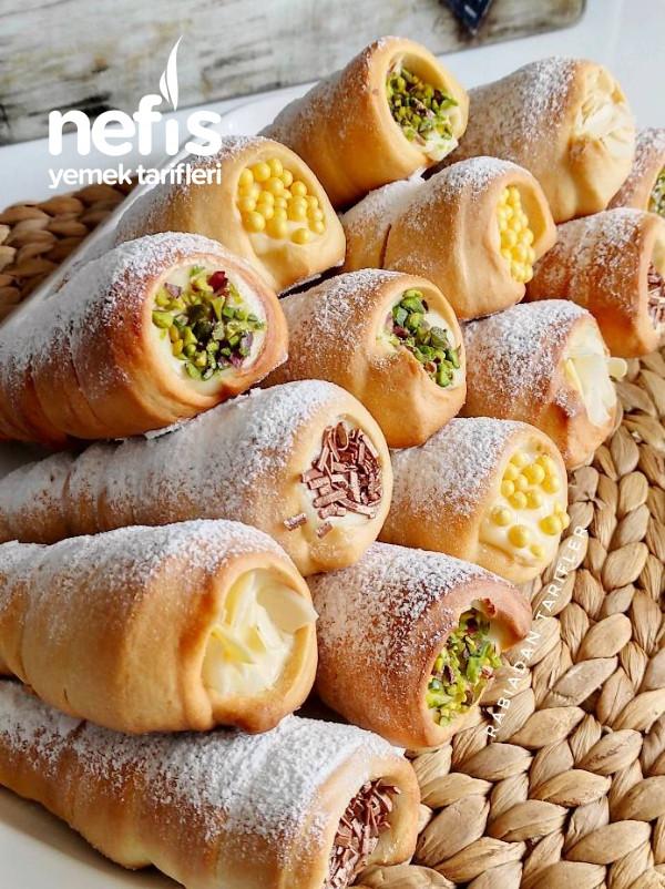 Meşhur Funiyki Tatlısı(Torpil Pasta, Külah Tatlısı)