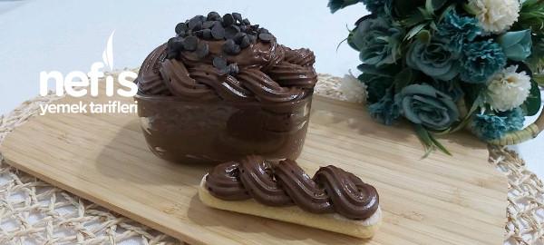 Muhteşem Çikolatalı Pasta Kreması