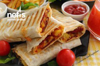 Patates Kızartmasından Muhteşem Tost (Çocuklarınız Bu Lezzeti Her Gün İsteyecek) Tarifi