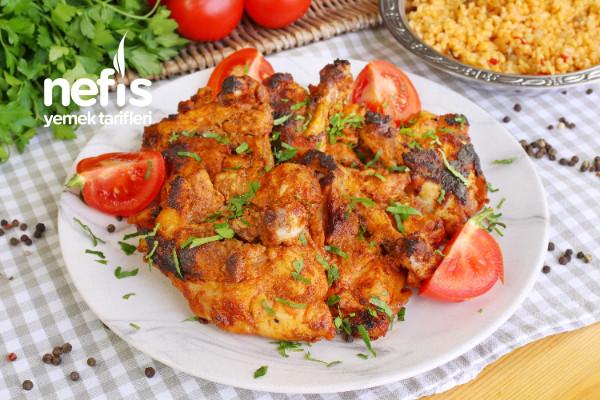 Terbiyeli Tavuk Pirzola Yapımı