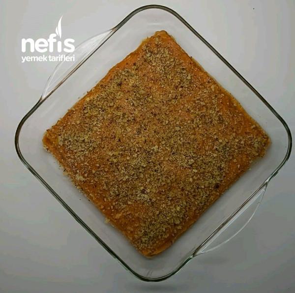 Turuncu Lezzet Bal Kabaklı Bisküvili Pasta