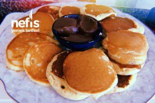 10 Dakikada Kahvaltıda Çikolatalı Pankek Tarifi