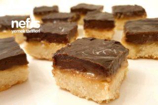 Karamel Ve Çikolatalı Kıtır Kurabiye Tarifi
