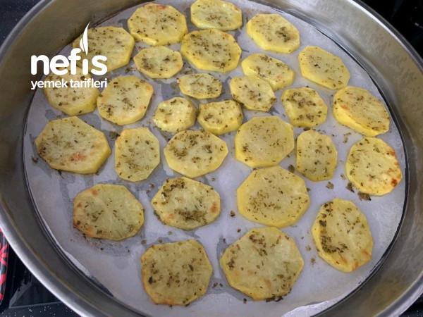 Kekikli Patates Dilimleri