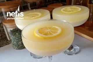 Limonlu Muhallebi(İçinizi Ferahlatacak) Tarifi