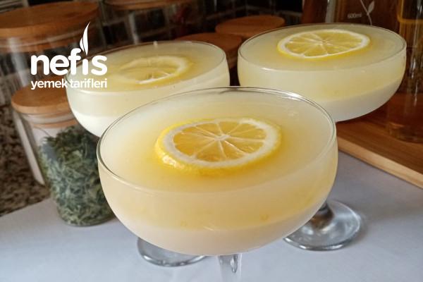 Limonlu Muhallebi(İçinizi Ferahlatacak)