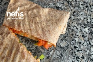 Sabah Kahvaltısında Diyet Pizza Tarifi