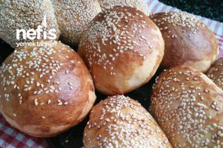 Tek Hamur İle 2 Çeşit Poğaça ve Hamburger Ekmeği Tarifi