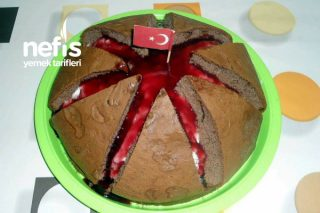 Yanar Dağ Pasta Tarifi